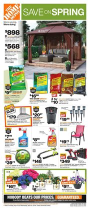 Home Depot deals in the Prince George flyer
