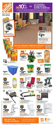 Home Depot deals in the Calgary flyer