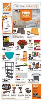 Home Depot deals in the Montreal flyer