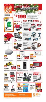 Home Depot deals in the Beloeil flyer