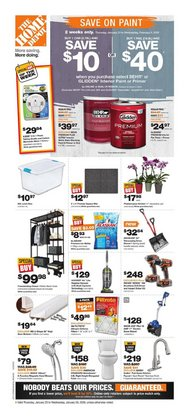 Home Depot deals in the Vancouver flyer