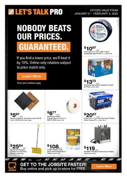 Garden & DIY offers in the Home Depot catalogue in Edmonton