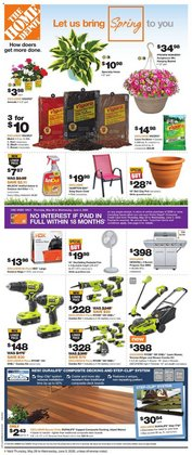Garden & DIY offers in the Home Depot catalogue in Oshawa ( Expires today )