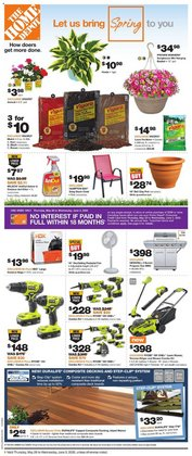 Home Depot catalogue ( 3 days left )