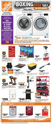 Garden & DIY offers in the Home Depot catalogue in Kitchener ( Expires tomorrow )