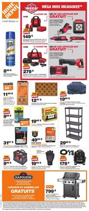 Garden & DIY offers in the Home Depot catalogue in Montreal ( Expires today )