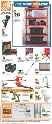 season deals in the Home Depot catalogue ( Published today)