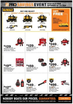 Home Depot catalogue ( 2 days left )