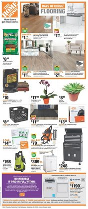 Home Depot catalogue ( Published today )
