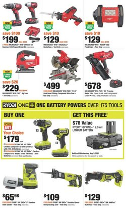 Garden & DIY offers in the Home Depot catalogue ( 2 days left )