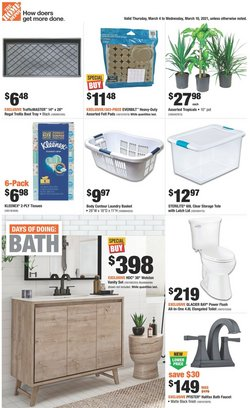 Home Depot catalogue ( 2 days ago )