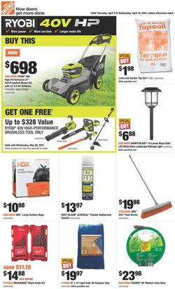 Home Depot catalogue ( 2 days left )