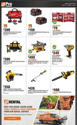Home Depot catalogue ( 1 day ago )