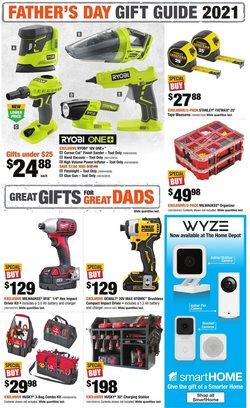 Home Depot deals in the Home Depot catalogue ( 7 days left)
