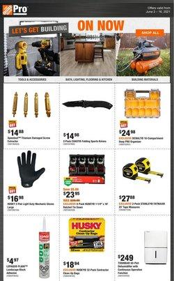 Home Depot deals in the Home Depot catalogue ( 30 days left)