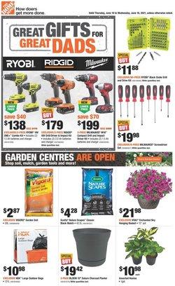 Home Depot catalogue ( Expires today)