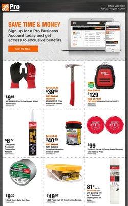 Garden & DIY deals in the Home Depot catalogue ( Expires tomorrow)
