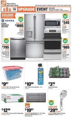 Home Depot catalogue ( Published today)