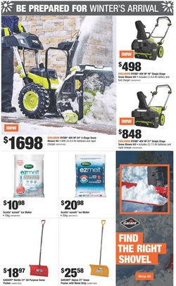 HP deals in the Home Depot catalogue ( 17 days left)