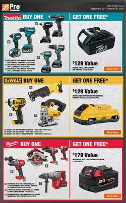 Garden & DIY deals in the Home Depot catalogue ( 2 days left)
