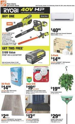 Home Depot catalogue ( 2 days left)