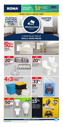 RONA deals in the Gatineau flyer