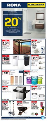Home & furniture offers in the RONA catalogue in Rouyn-Noranda