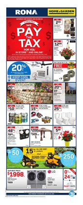 RONA deals in the Prince George flyer