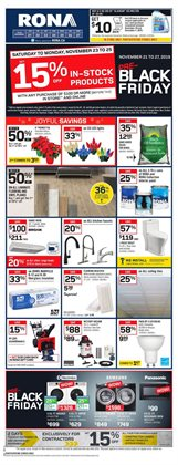 RONA deals in the Vancouver flyer