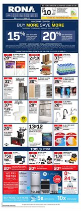 RONA deals in the Toronto flyer