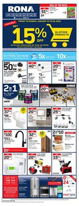 RONA deals in the St. Catharines flyer