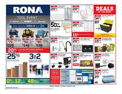 Garden & DIY offers in the RONA catalogue in Milton ( 3 days left )