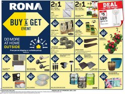 Garden & DIY offers in the RONA catalogue in Oshawa ( Expires today )