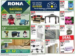 Garden & DIY offers in the RONA catalogue in Kitchener ( Expires tomorrow )