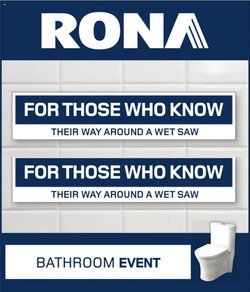 RONA catalogue ( Expires today )