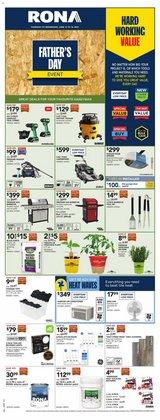 RONA deals in the RONA catalogue ( Expires today)