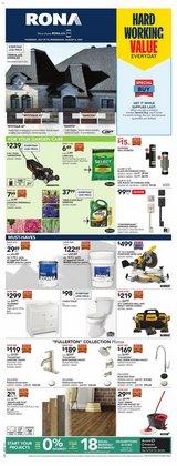 Garden & DIY deals in the RONA catalogue ( Expires tomorrow)
