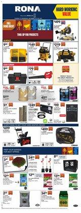 RONA deals in the RONA catalogue ( 1 day ago)