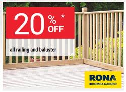 RONA deals in the Winnipeg flyer