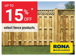 RONA deals in the Montreal flyer