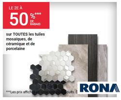RONA deals in the Vernon flyer
