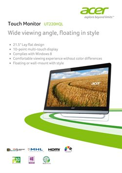 ACER catalogue ( More than a month )
