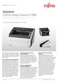 Fujitsu catalogue ( More than a month )