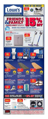 Home & furniture offers in the Lowe's catalogue in Cornwall