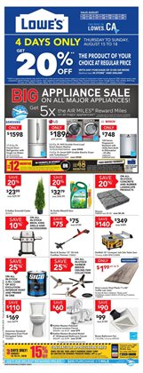 Garden & DIY offers in the Lowe's catalogue in Toronto