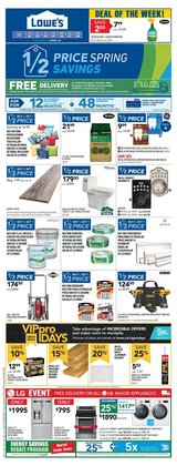 Garden & DIY offers in the Lowe's catalogue in Toronto ( 3 days left )