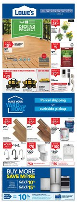 Lowe's catalogue in Vancouver ( Expires tomorrow )