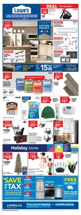 Santa deals in the Lowe's catalogue ( 4 days left)