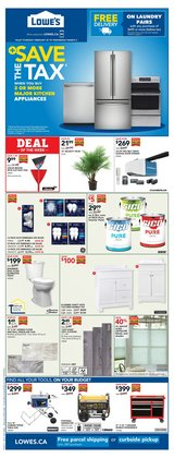Garden & DIY offers in the Lowe's catalogue ( 2 days left )