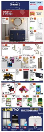 Lowe's deals in the Lowe's catalogue ( 1 day ago)